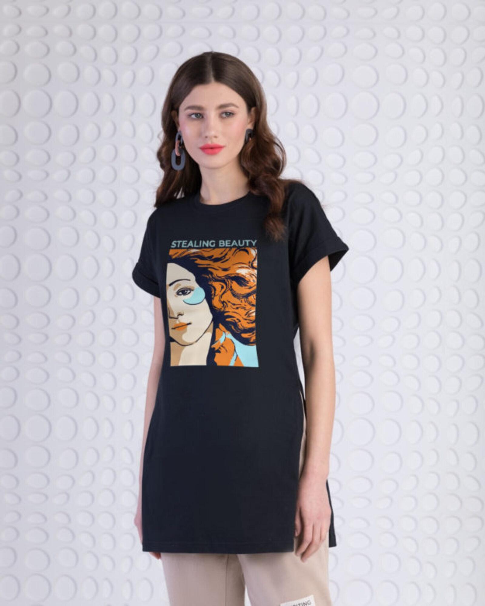 Туника женская «Венера» черная
