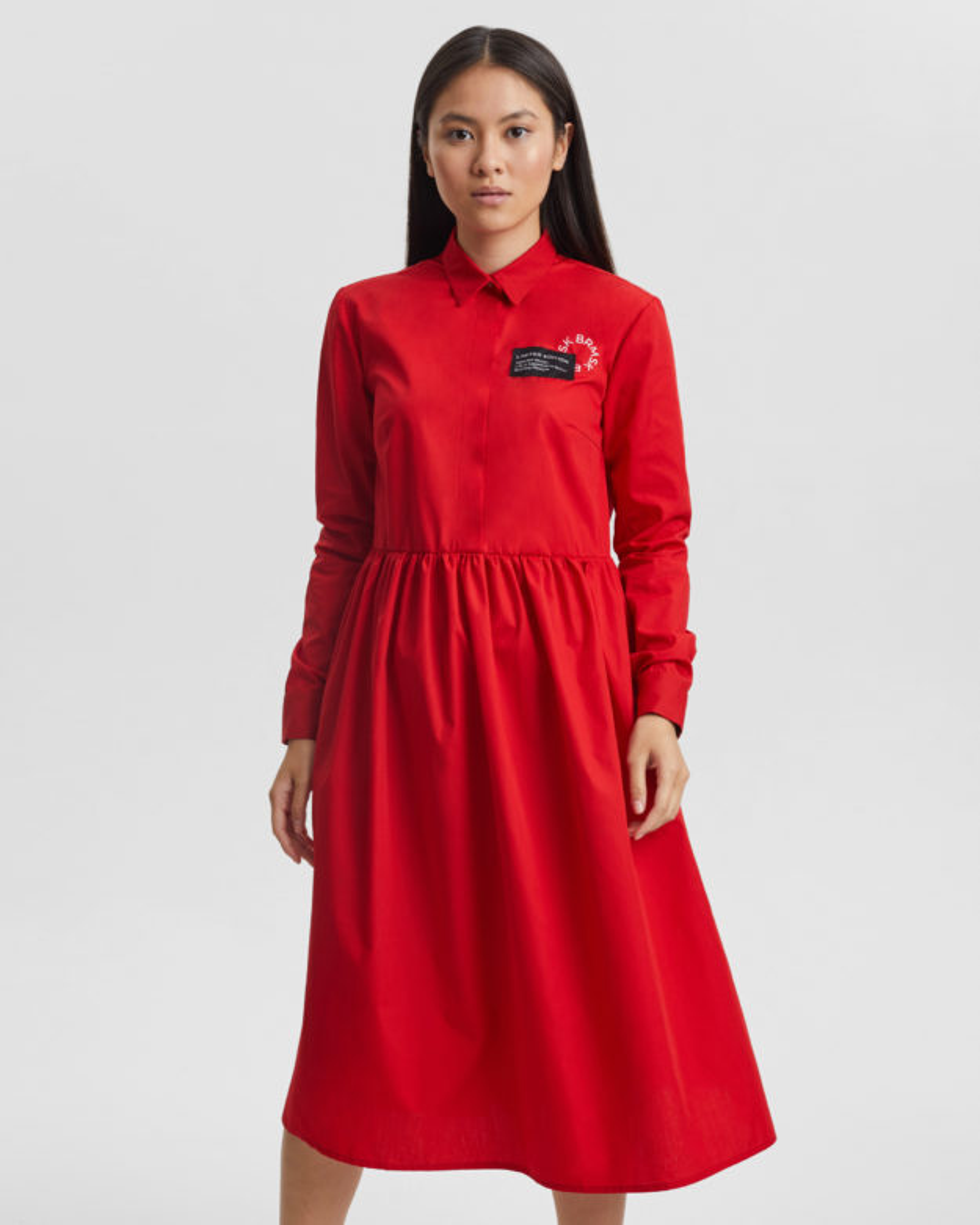 Платье женское «Love Tags» красное