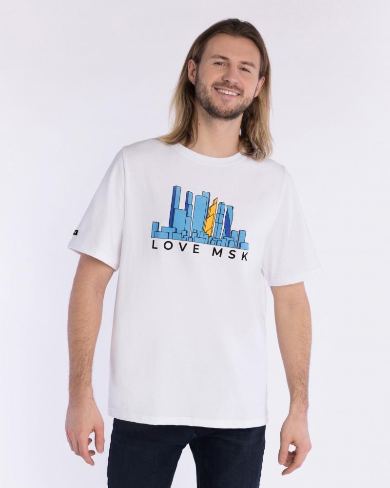 Футболка мужская  «Love MSK»