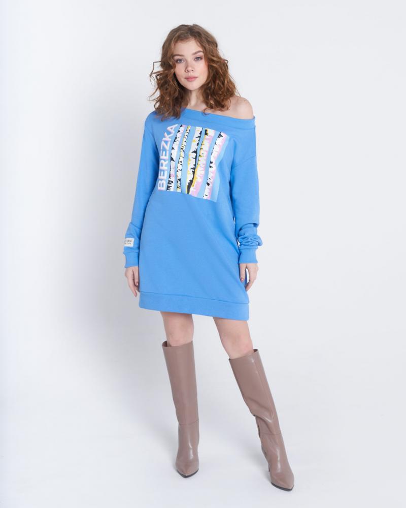 Платье-свитшот женское «Berezka»
