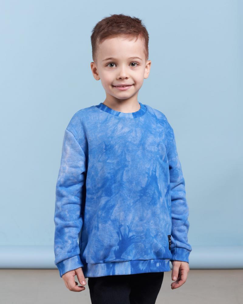 Свитшот детский «Тай Дай» синий