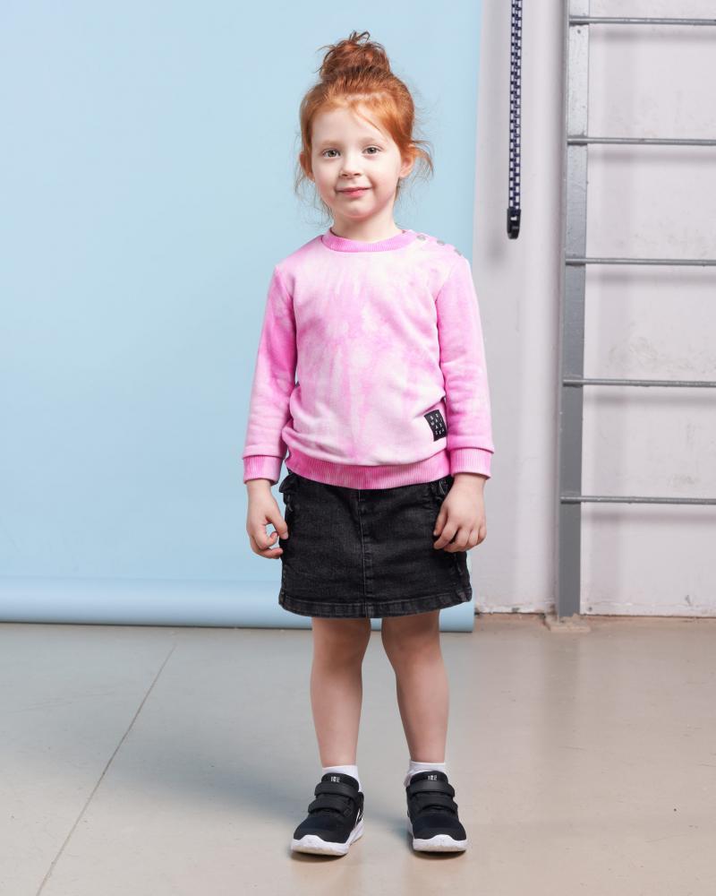 Свитшот детский «Тай Дай» розовый