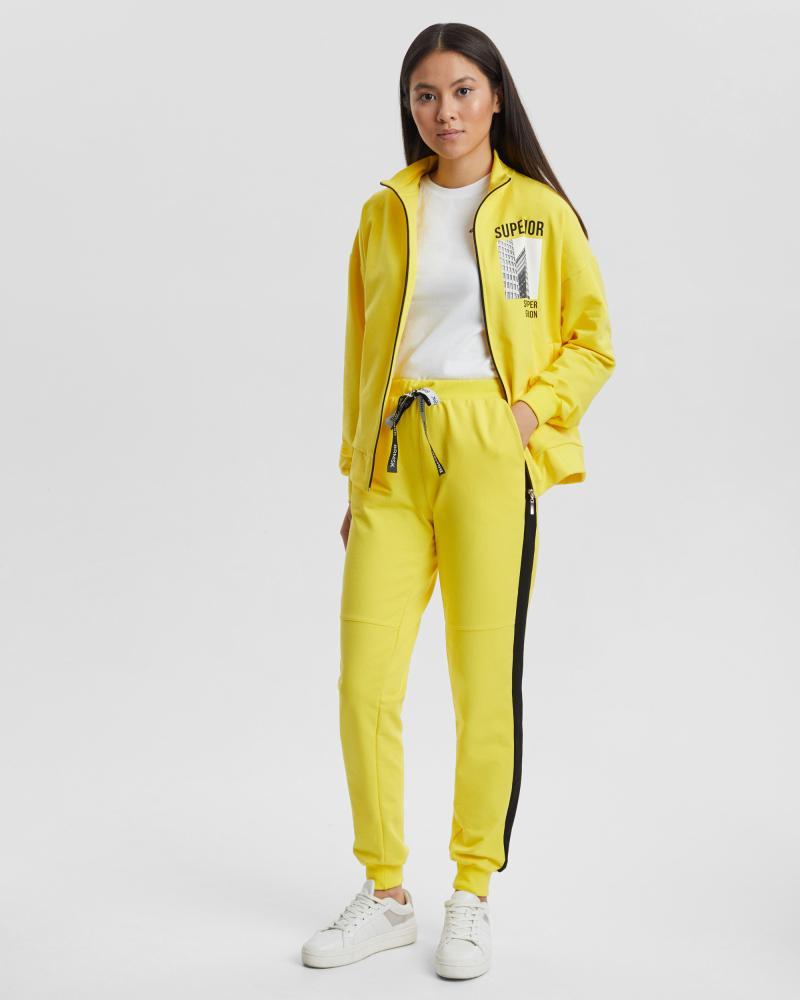 Спортивный костюм женский «Superior» желтый