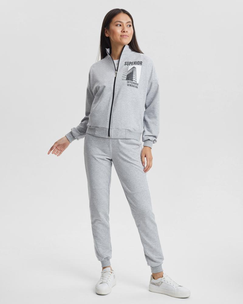 Спортивный костюм женский «Superior» серый