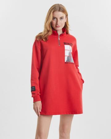Платье женское «Reality» красное