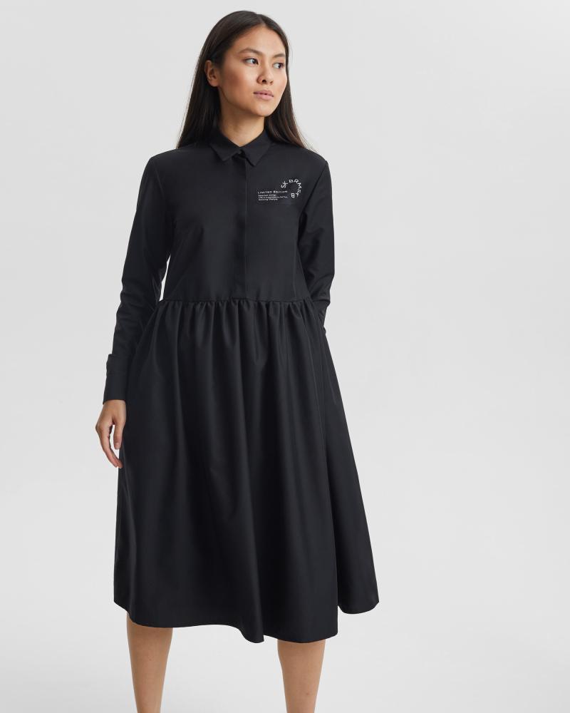 Платье женское «Love Tags» черное