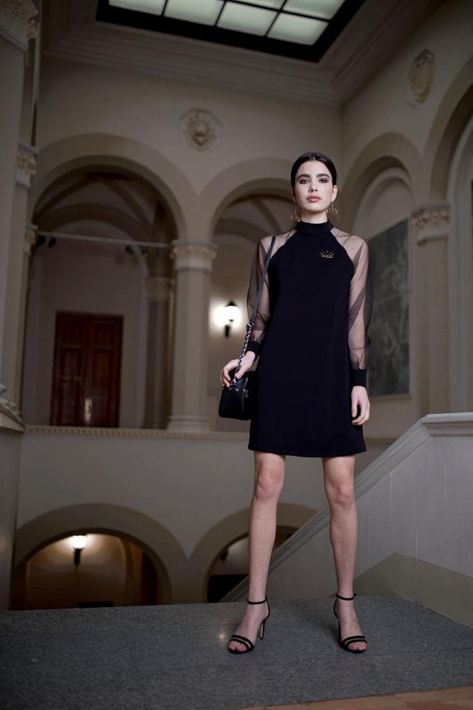 Платье женское мини «Корона»