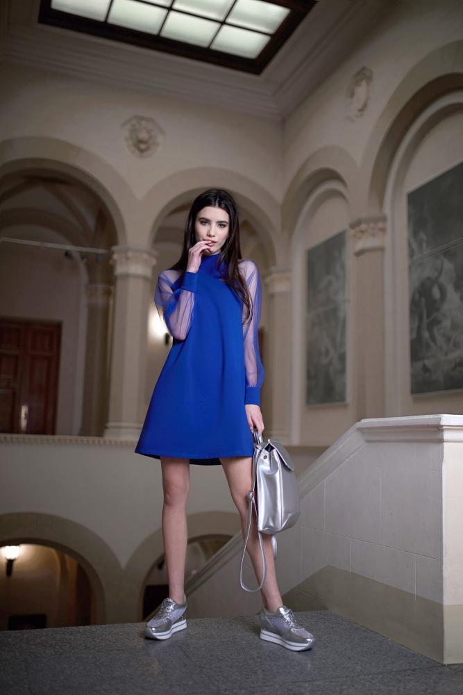 Платье женское мини «Бриллиант»